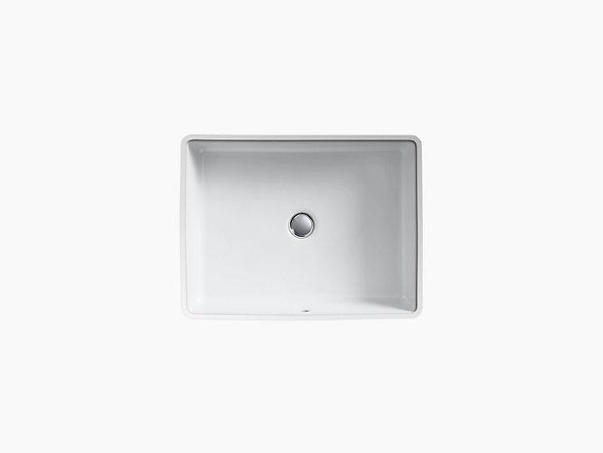 K-2882 | Verticyl Undermount Rectangular Sink | KOHLER