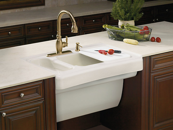 K 6536 4 Assure Kitchen Sink With Four Faucet Holes Kohler