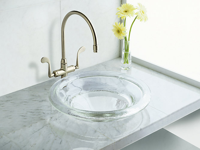 K 2276 Spun Glass Countertop Sink Kohler
