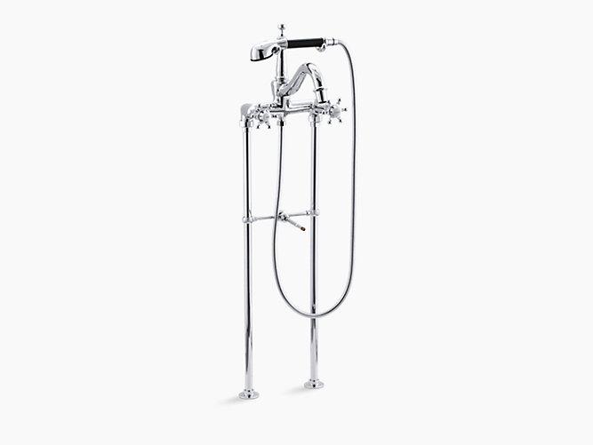 K-110-3 | Antique Bath Faucet with Handshower | KOHLER