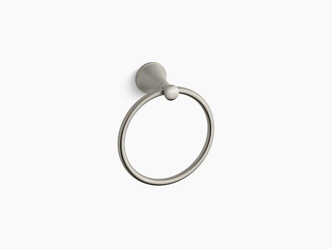 Kohler Coralais Towel Ring - Brushed Nickel