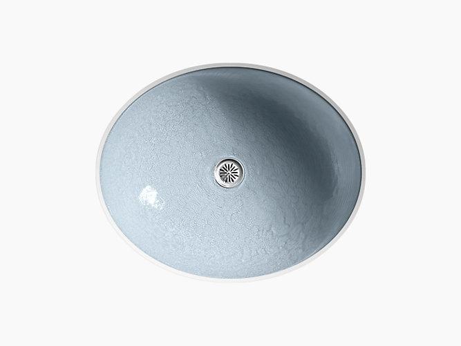 K-2741-G1 | Whist Glass Undermount Sink in Dusk | KOHLER