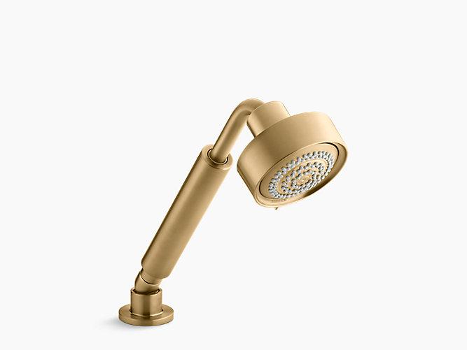 """Kohler Full Purist 30"""" Handshower Kit - Brushed Gold"""