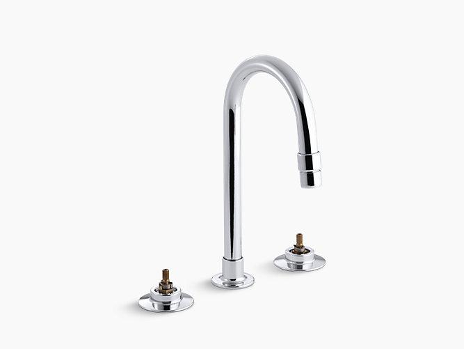 Triton Widespread Commercial Bathroom Sink Faucet With