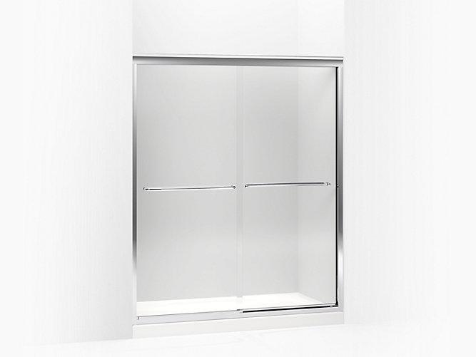 K 702217 L Fluence Frameless Sliding Shower Door With 3