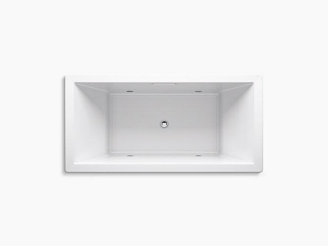 K-1835-VBC | Underscore 6-Foot VibrAcoustic Bath with ...