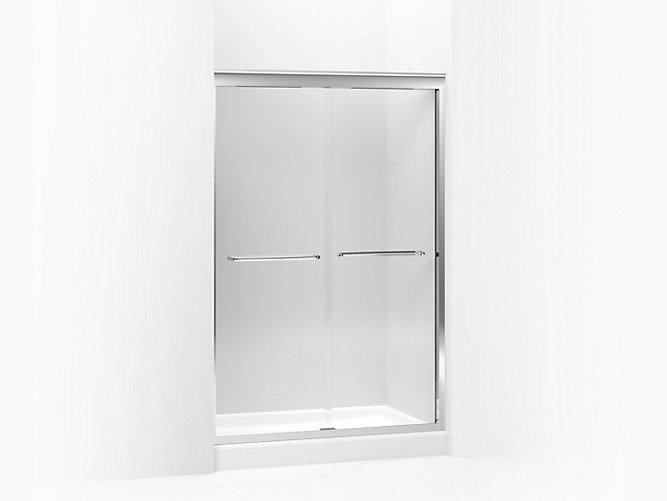 Fluence Frameless Sliding Shower Door With 38 Inch Glass K 702209