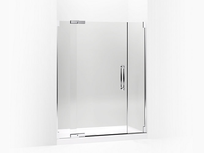 Finial Frameless Pivot Shower Door K 705729 L Kohler