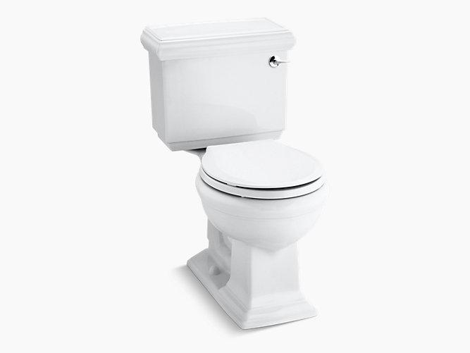 round front toilet dimensions. KOHLER  K 3986 RA Memoirs Classic 1 28 GPF Round Front Toilet