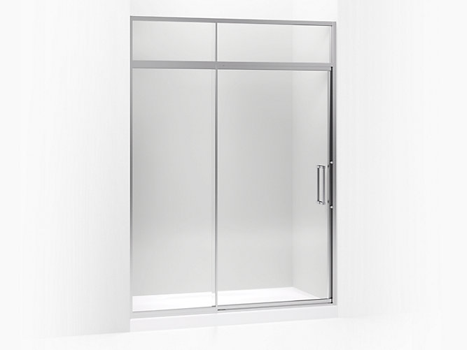 Lattis Pivot Shower Door With Sliding Steam Transom K