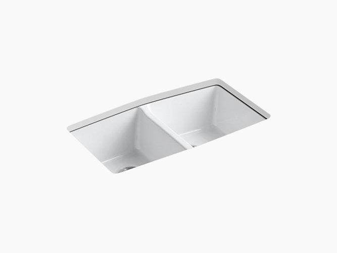 Brookfield Under-Mount Kitchen Sink with Five Faucet Holes   K-5846 ...