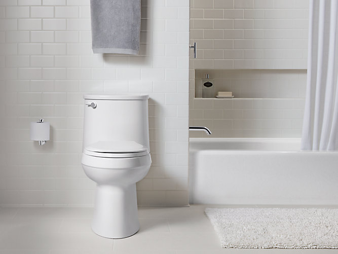 Adair Comfort Height One Piece Elongated Toilet K 3946