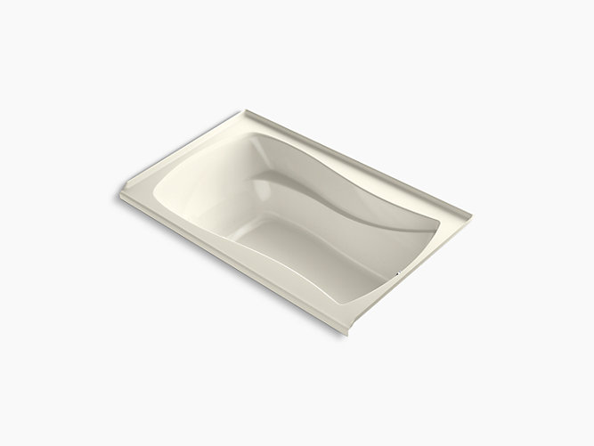 K 1242 R Mariposa 60 X 36 Alcove Commercial Bath With Integral Flange And Right Hand Drain Kohler