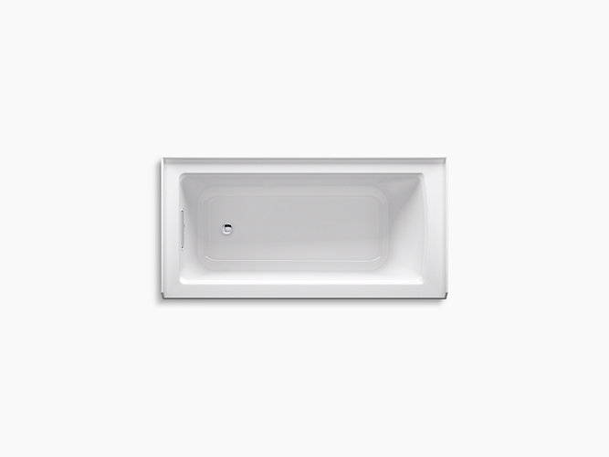 K-1946-LA | Archer 5-Ft Bath with Integral Apron and Left Drain | KOHLER