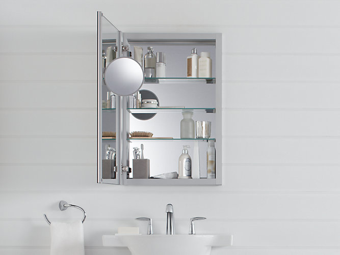 K 99003 Verdera Medicine Cabinet With Magnifying Mirror Kohler