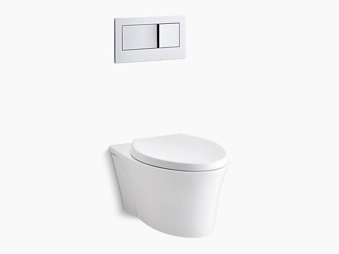 K 6303 Veil Wall Hung Toilet With Reveal Seat Kohler