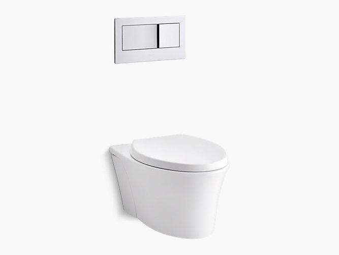 K 6303 veil wall hung toilet with reveal seat kohler - Inodoro colgante ...