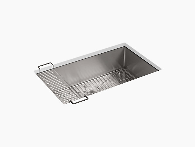 Kitchen Sink Rack K 5285 strive 32 x 18 14 x 9 516 under mount single bowl kohler workwithnaturefo