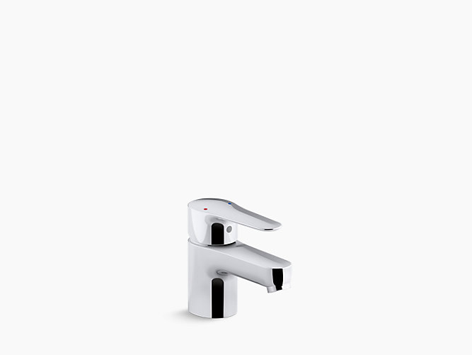 short hardware mounting single with curviz faucet lavatory handle