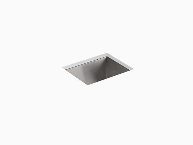 K-3840-3 | Vault Bar Sink with Three Faucet Holes | KOHLER