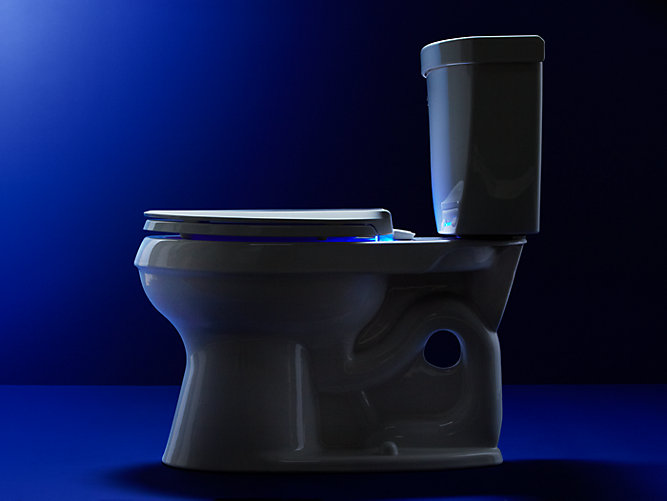 K 75796 Cachet Nightlight Elongated Toilet Seat Kohler