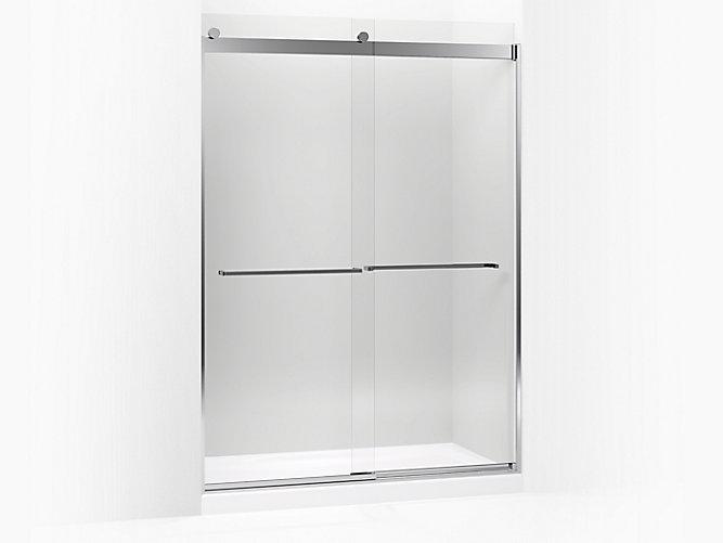 K 706019 L Levity Sliding Shower Door 82 H X 56 5 8