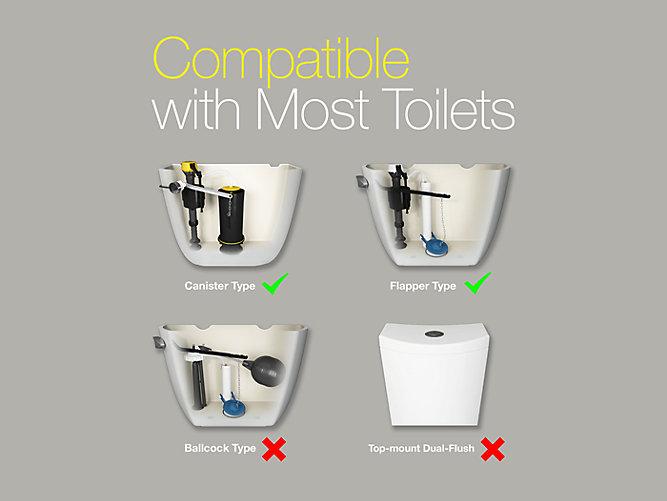toilet flapper valve types. Share your style  KohlerIdeas Touchless Toilet Flush Kit K 1954 KOHLER