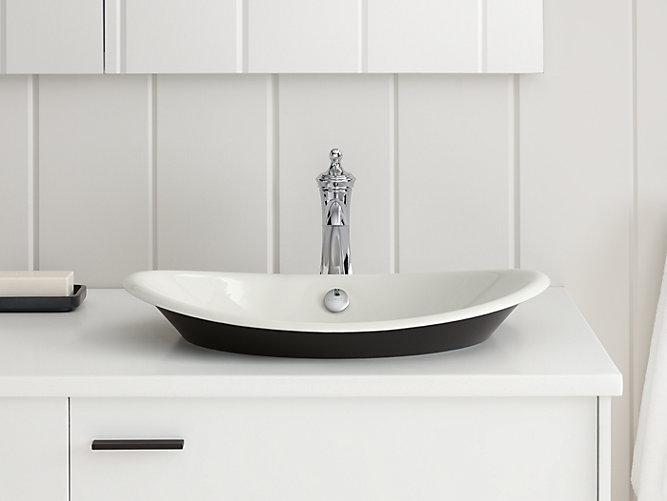 K 5403 P5 Iron Plains Wading Pool Oval Bathroom Sink Kohler