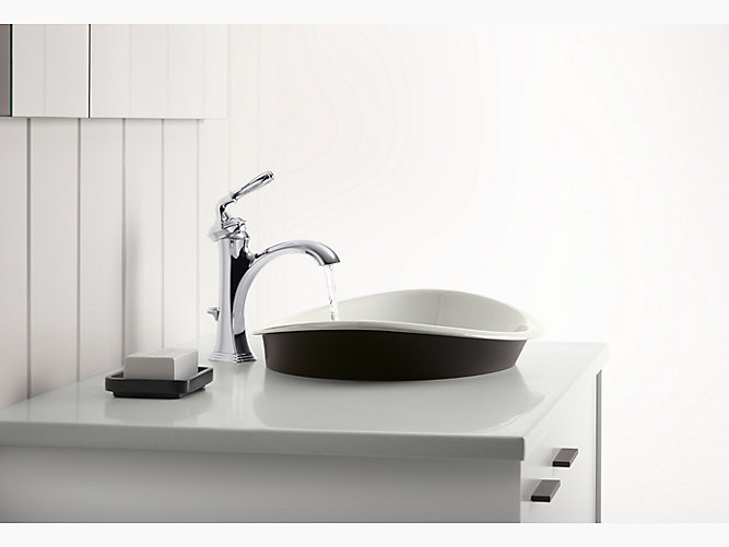 Iron Plains Wading Pool Oval Bathroom Sink K 5403 P5