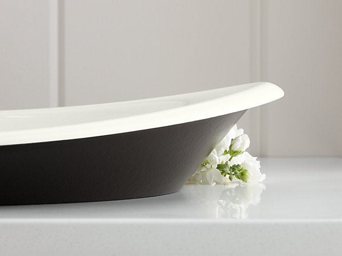 Iron Plains Wading Pool Oval Bathroom Sink K 5403 P5