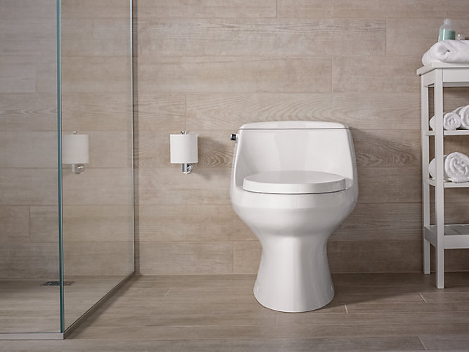 K 3722 San Raphael One Piece Elongated Toilet 1 28 Gpf