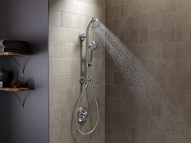 HydroRail-S Shower Column for Handshower/Showerhead | K-45906 | KOHLER
