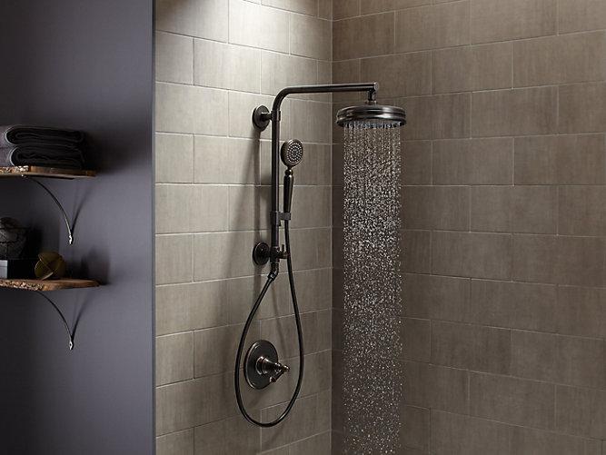K-13692 | 8-Inch Traditional Round Rain Showerhead, 2.5 GPM | KOHLER
