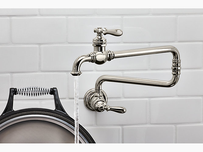 K 99270 Artifacts Wall Mount Pot Filler Faucet Kohler