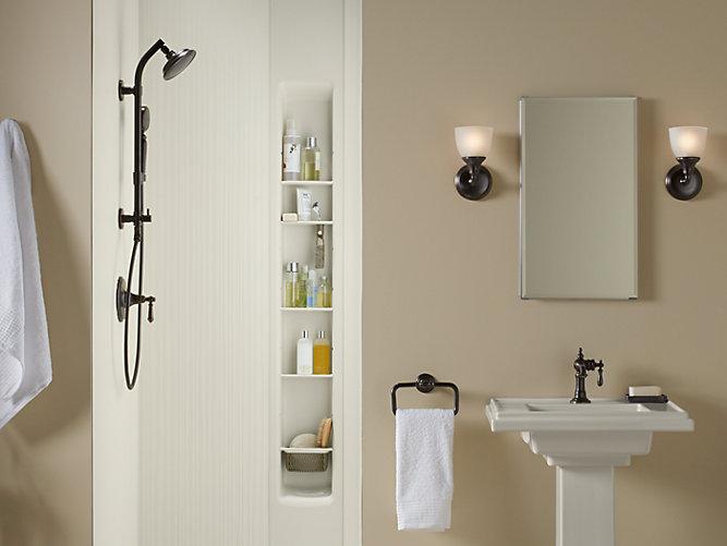 K 97611 Choreograph 36 X 36 X 96 Inch Shower Wall Kit