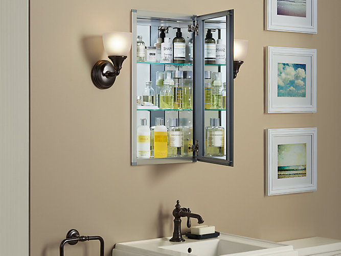 15-Inch Medicine Cabinet With Mirrored