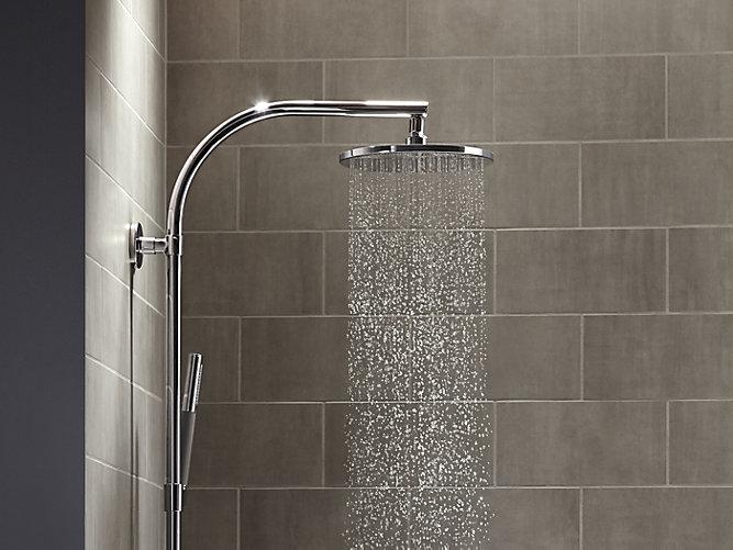 K-13689 | 10-Inch Contemporary Round Rain Showerhead, 2.5 GPM | KOHLER