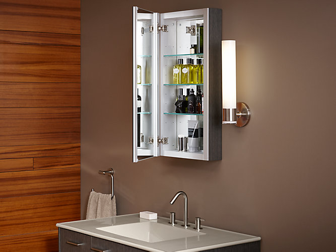 K 99000 Verdera Medicine Cabinet With Mirrored Door Kohler
