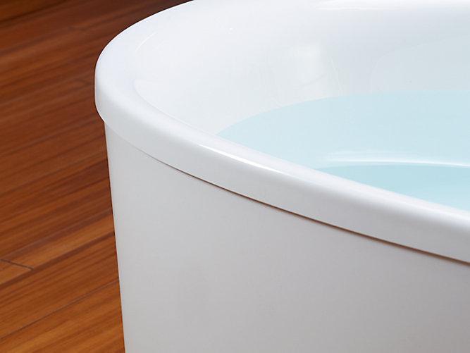 K-5701 | Underscore 5-Ft Oval Freestanding Bath | KOHLER