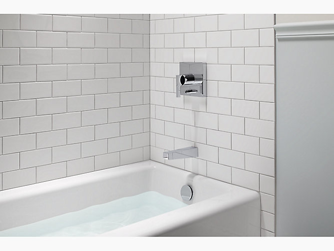 Kohler K 838 Bellwether 5 Foot Cast Iron Bath With Right Drain