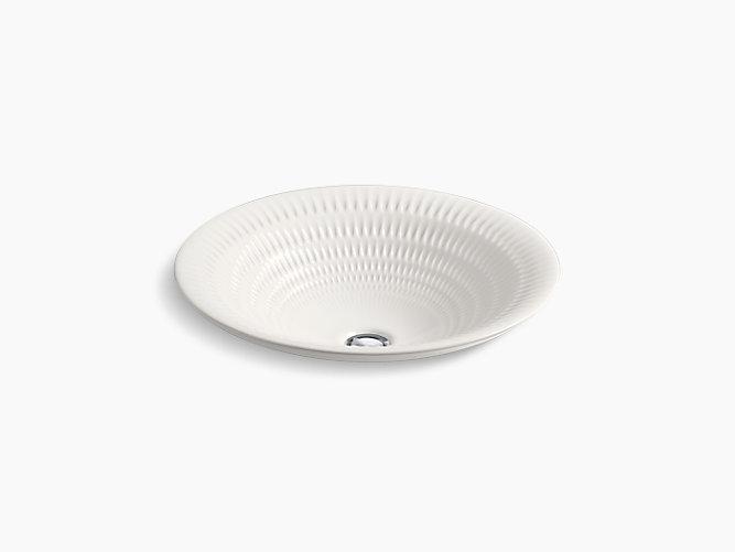 derring carillon round wading pool vessel bathroom sink