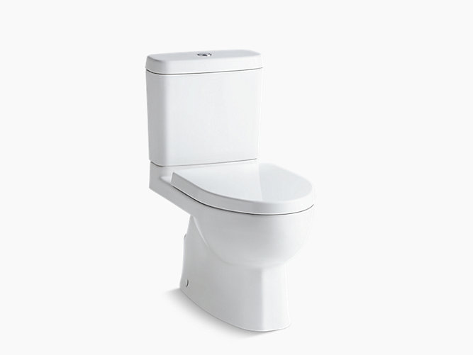 KOHLER | 3991LM-S | Reach two-piece toilet with concealed trapway
