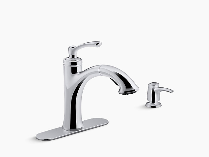 k decorative faucet kohler htm kitchen fireclay revival sinks