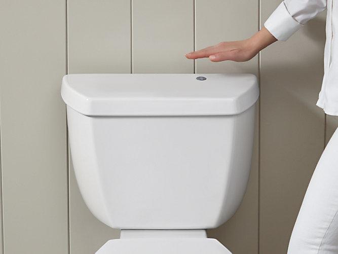 K 18202 Highline Classic Touchless Toilet 1 28 Gpf Kohler