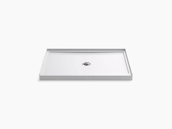 K-8461 | Rely Shower Base, 48 x 34-inch, Center Drain | KOHLER