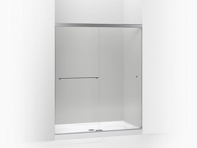 K 707206 L Revel Frameless Sliding Shower Door Kohler