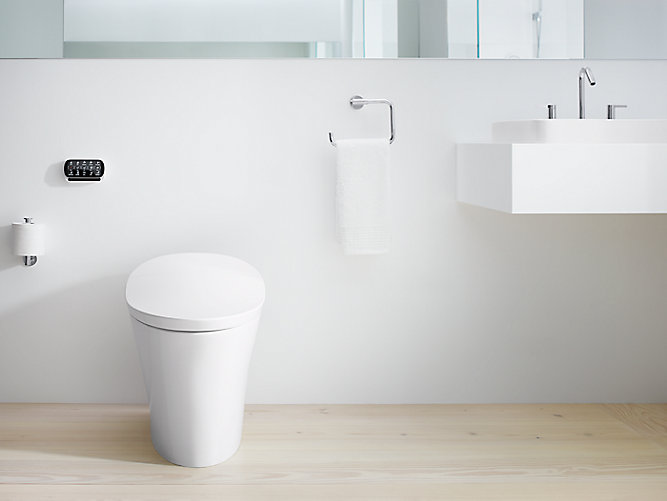 K-5401 | Veil Intelligent Elongated Dual-Flush Toilet | KOHLER
