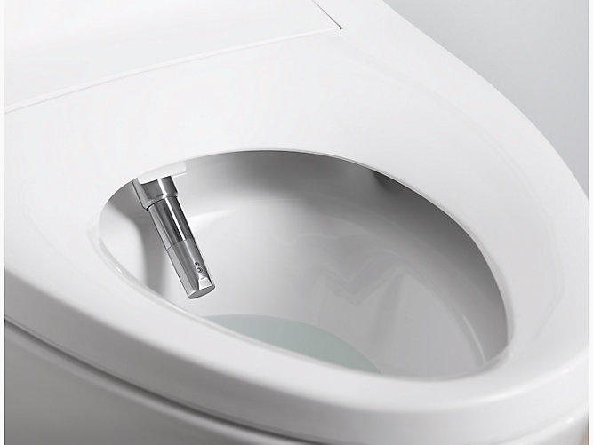 K-5401 | Veil Intelligent Elongated Dual-Flush Toilet | KOHLER