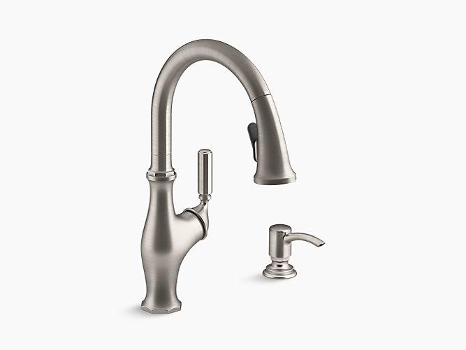 K R11921 Sd Worth Pull Down Kitchen Faucet Kohler
