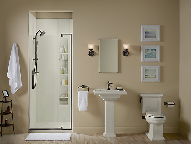 K 707516 L Revel Frameless Pivot Shower Door Kohler